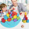 Educational Wood Moon Balance Game Blocks Gift Baby Toys Colorful Children DIY Toy Building Block