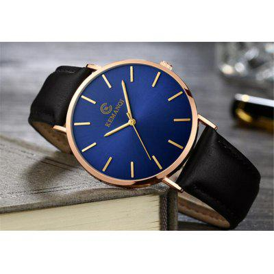 ltra-thin Watch Mens Fashion Watches Simple Business Casual Quartz Clock Watch