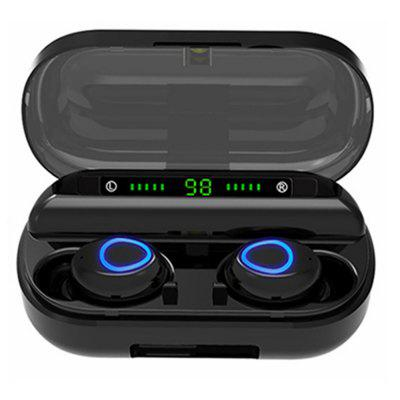 V10 TWS Bluetooth Earphone With Microphone LED Display Wireless Bluetooth Headphones Earphones