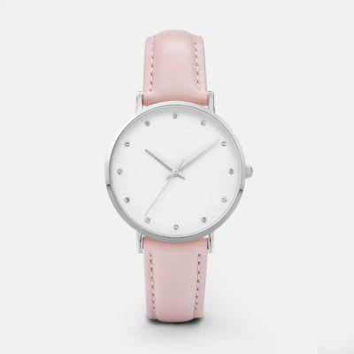 New Luxury Crystal Women Watches Ladies Leather Quartz Watch Montre Femme Relojes Mujer Zegarek