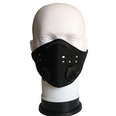 Activated Carbon  Mask PM2.5 Windproof Warm Dustproof Cycling  Sports  Bike Mask Non-Medical Masks