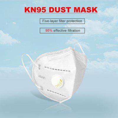 KN95 Mask Dust Absorption Breathing Health Safety Protection Non-Medical Masks