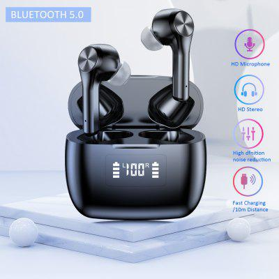 T9 Hot Sale Touch-control Noise Reduction Explosion-Proof Wireless Tws Bluetooth Headset