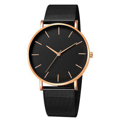 Business Watches For Men Luxury Male Clock Mesh Stainless Steel Fashion Relogio Masculino Simple Quartz Wristwatches 2020