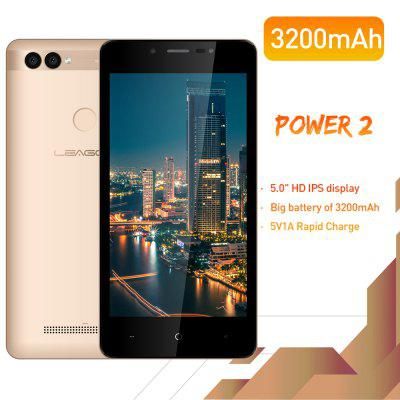LEAGOO POWER 2 Mobile Phone Android 8.1  2GB 16GB MT6580A Quad Core Dual Camera 3G Smartphone Image