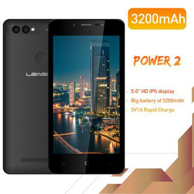 Telefono cellulare LEAGOO POWER 2 Smartphone Android 8.1 2GB 16GB MT6580A Quad Core Dual Camera 3G