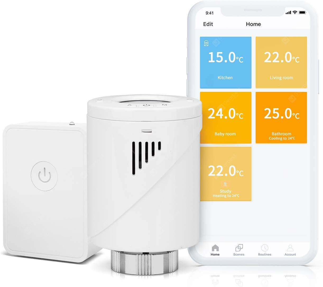 Meross Smart Heating Radiator Thermostat with Starter Kit - Germany (entrep�t EU) 12%commissions