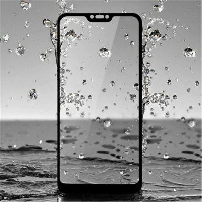 Full Screen Mobile Phone Tempered Glass Protective Film Combination Set for Xiaomi Mi 8 2pcs Black