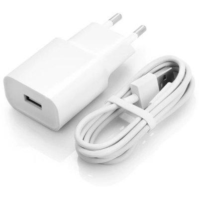 Xiaomi Charger with Type-C Data Cable 1m Set for Oneplus 6T 6 5T 5 3 3T Xiaomi mi 8 F1Crystal Cream