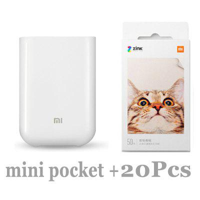 XiaoMi Mijia AR Printer 300dpi Portable Mini Travel Party Photo Image Bag DIY Parts 500mAh