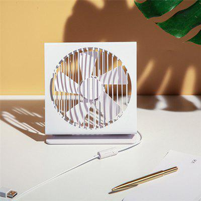 XIAOMI Original VH CE 7 Inch Portable Mini Metal Mute Fan 5 Blade Dual Mode Home Office Desk
