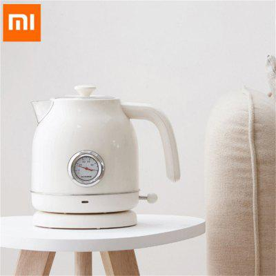 Xiaomi Mijia Ocooker Cs Sh01 1.7l Electric Kettle Stainless Steel Water Thermometer With Clock