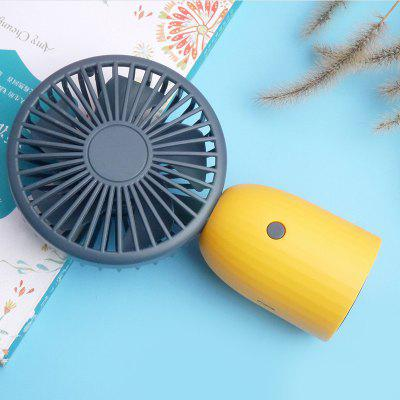 2020 New USB Desktop Cooling Fan Multifunctional Student Dormitory Charging Handheld Portable Silent Mini Fan