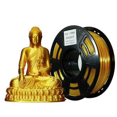 Stronghero3D PLA 3D Printer Filament Silk Gold 1.75mm 1kg for Creality3D ender3 Anet Anycuby