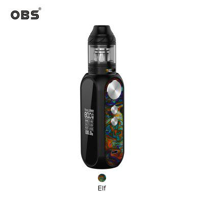 OBS Cube 80W Kit 4ml Tank M1 Mesh Coil OLED Screen Electronic Cigarette Starter Mod Kit Authentic