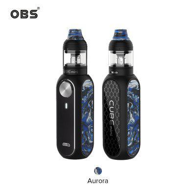 Authentic OBS Cube Mini Resin Starter Kit Built-in 1500mAh Battery with Cube Mini 3ml Tank 5 Colors