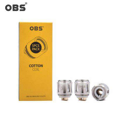 OBS Cube Coil Replacement M1 mesh Coils Head Core 0.2ohm Fit Draco and Cube Kit Authentic