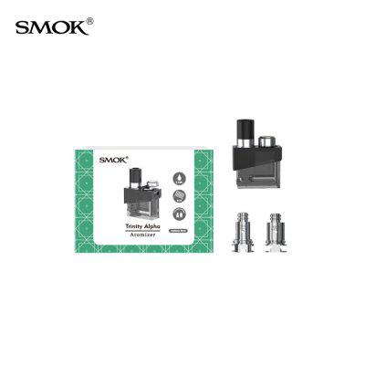 SMOK Trinity Alpha Replacement Pod Cartridge with Coils 1PC pack Authentic