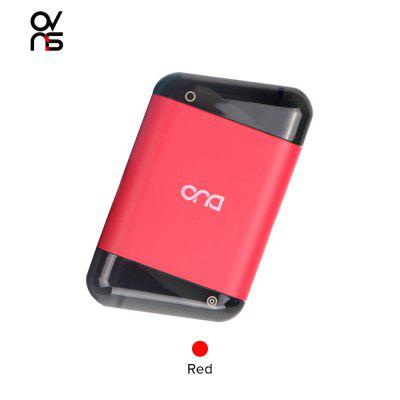 Ovns Duo Vape Pod System Kit 400mAh with Dual 2.0ml EMPTY Cartridges Enjoy Dual Flavor with OVNS DUO