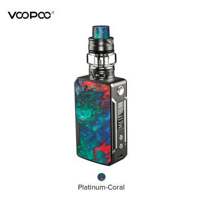 VOOPOO Drag Mini Platinum 117W Kit Construit dans 4400mAh Batterie Vape Box Mod 5ml UFORCE T2 réservoir
