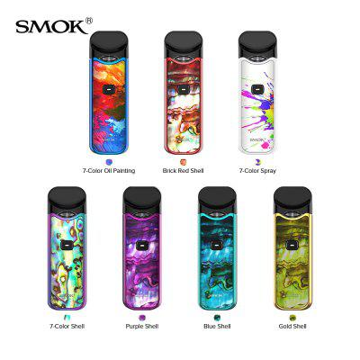 SMOK Nord Kit 1100mAh Pod System Kit with Nord Pod Cartridge 3ml Mesh and Regular Coils