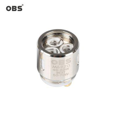 OBS Cube Coil Replacement M1 mesh Coils Head Core 0.2ohm Fit Draco and Cube Kit 2packs
