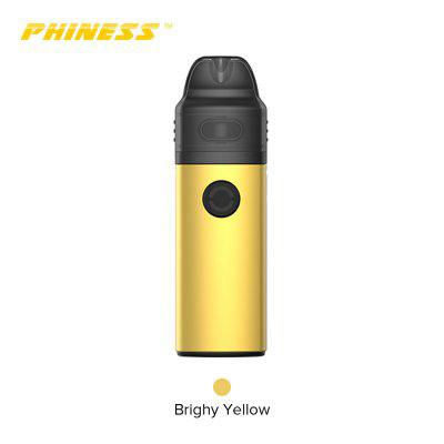 Vandy Vape Phiness HUB Pod System Kit Built in 950mAh 3.5ml Cartridge Two Coil Heads Authentic