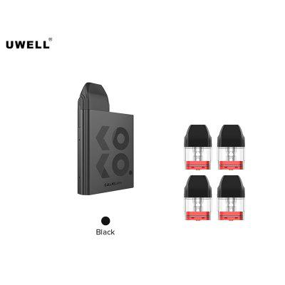 Uwell Caliburn KOKO Pod Kit 520mAh 2ml AVEC 4pcs Uwell Caliburn KOKO Cartouche 2ml 1.2ohm
