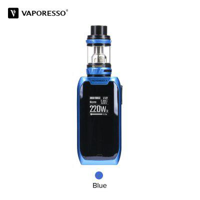 Original Vaporesso Revenger X Starter Kits 220W 5ml NRG Mini Tank Atomizer Touch Button TC Bod Mod