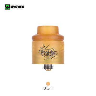 Wotofo Profile RDA Tank Atomizer Top Filling Squonk Apply with Mesh Coils Clapton Coil