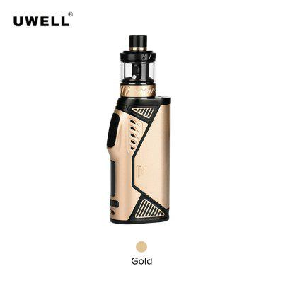 Uwell Hypercar Kit 80W With 3.5ml Whirl Vape Tank Plug-pull Coil Powered by Single 18650 Battery TPD