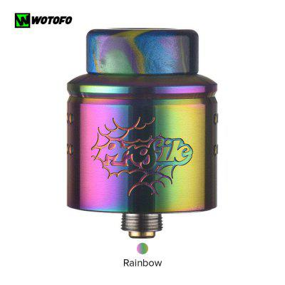 Original Wotofo Profile1.5 RDA 24mm diameter new two 810 drip tips Rebuilding Vape Tank Vaporizer
