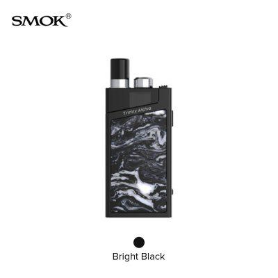 SMOK Trinity Alpha Kit Built-in 1000mAh Battery Box Mod With 2.8ml Pod System Nord Mesh-MTL coils