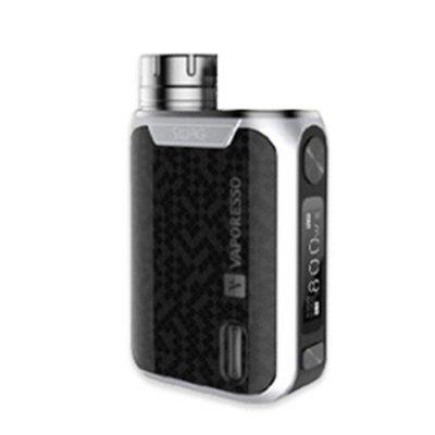 Vaporesso Swag 1 TC Box MOD Powered By A Single 18650 Battery Supports A Maximum Output of 80W