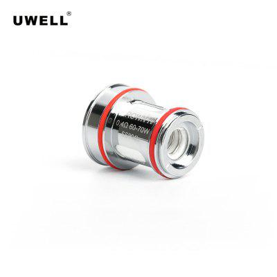 Uwell Crown 4 Dual SS904L Coil FDA Package 0.4ohm 4PCS Pack