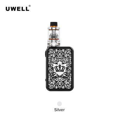 FDA package Uwell Crown 4 200W Kit with 5ml Tank Atomizer Dual SS904L UN1 UN2 mesh Cores
