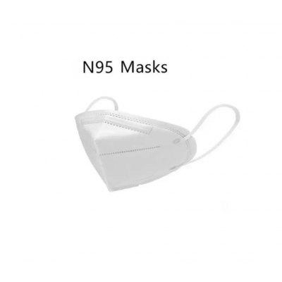 N95 FFP2  Masks 5-Layer Nonwoven Mouth Breathable Flu Dust-Proof