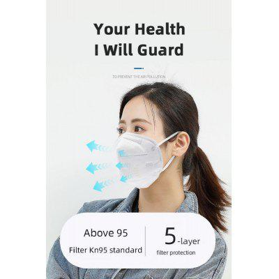10PCS N95 Respirator Face Mask Disposable Breathable Protective Not Medical Masks for Health