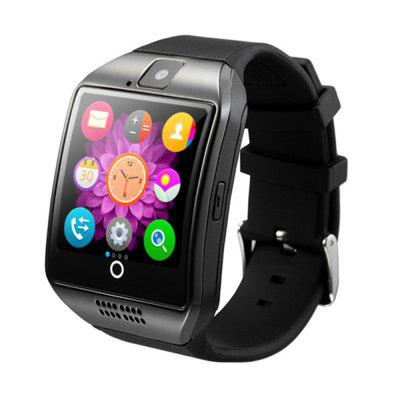 LEMFO Bluetooth Smart Watch Uomo Q18 con touch screen Grande supporto batteria TF Sim Card Camera one