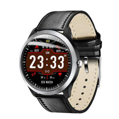 LEMFO 2019 New ECG PPG Smart Watch Men IP67 Waterproof Sport Watch Heart Rate Monitor