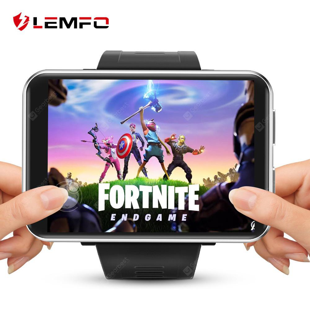 LEMFO LEM T 4G 2.86 inch screen smartwatch Android 7.1 3GB 32GB 5MP