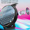 LEMFO LEM X 4G Smart Watch Android 7.1 with GPS Sim Card WIFI 2.03-inch Screen