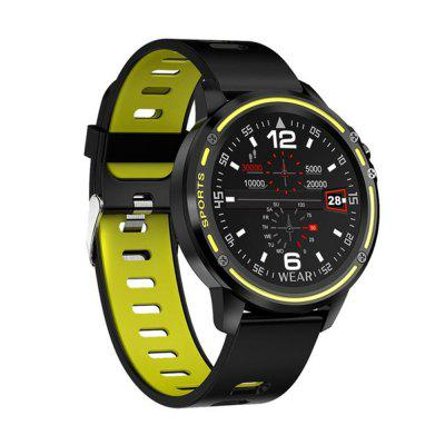 LEMFO L8 ECG PPG Smartwatch Android IOS Support 320mAh Smart Sports Watch Men