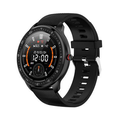 LEMFO Z06 smart watch 1.3 inch color screen heart rate monitoring Bluetooth pedometer sports information reminder Image