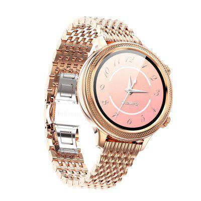 LEMFO 1.1 Inch Female Full Circle Full Heart Rate Physiological Health Monitoring LT06 Smart Bracelet Watch Image