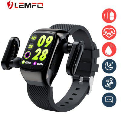 LEMFO S300 smart watch mens TWS dual bluetoot