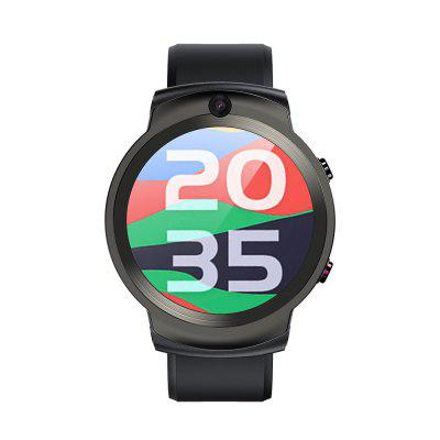 LEMFO LEM13 4G Smart Watch Mens Face Forward 2MP Rear 8MP Camera 3GB 32GB GPS WIFI Heart Rate Ladies Smartwatch 2020 New Image