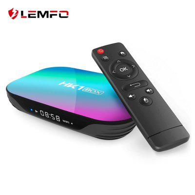 LEMFO HK1 S905X3 Smart TV Box Android 9.0 supports 8K USB 3.0 1000M Google Play Netflix Youtube media player set-top box Image
