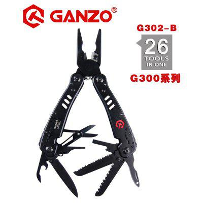 Ganzo G302 Multi pliers 26 Tools in One Hand Tool with Set Screwdriver Kit Knife Stainless pliers