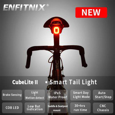 CubeLiteII Bicycle taillights Intelligent sensor Brake lights usb  For xlite100 upgraded version
